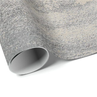 Silver Paint Industrial Cement Gray Graphite Gold Wrapping Paper