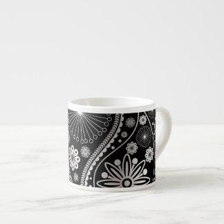 Silver paisley pattern