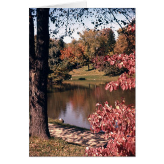 Silver Park in the Fall Card