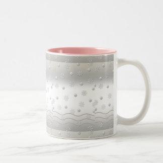 Silver Pearls Mug