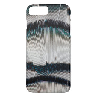 Silver Pheasant feathers iPhone 8 Plus/7 Plus Case