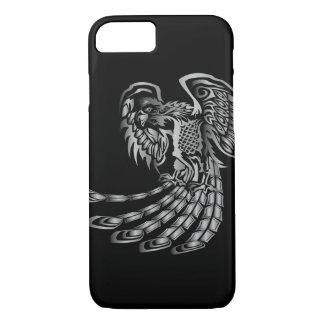 Silver Phoenix Rising iPhone 8/7 Case