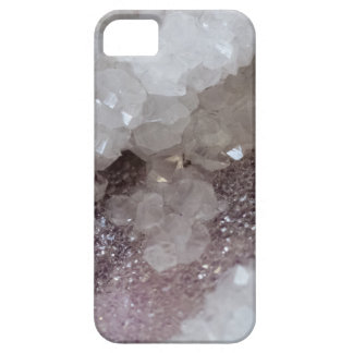 Silver & Quartz Crystal Case For The iPhone 5