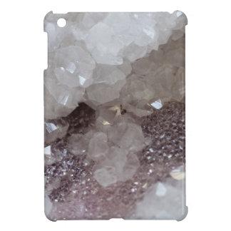 Silver & Quartz Crystal iPad Mini Covers