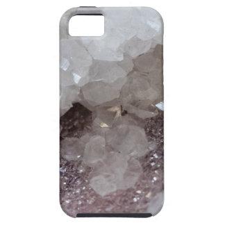 Silver & Quartz Crystal iPhone 5 Cover
