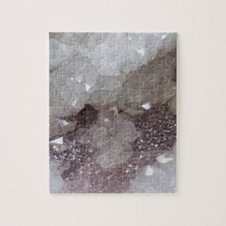 Silver & Quartz Crystal Jigsaw Puzzle