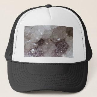 Silver & Quartz Crystal Trucker Hat