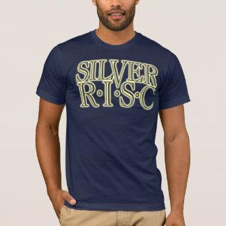 Silver R.I.S.C Glow Logo (Dark) T-Shirt