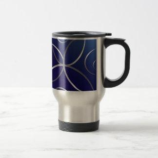 Silver roads travel mug