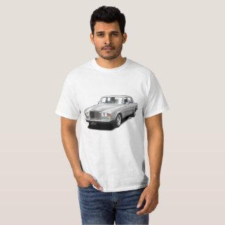 Silver Rolling Royal classic car t-shirt