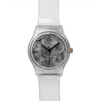 silver roses wristwatches