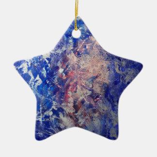 Silver Run Ceramic Star Ornament