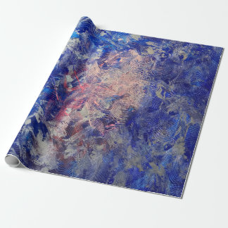 Silver Run Wrapping Paper