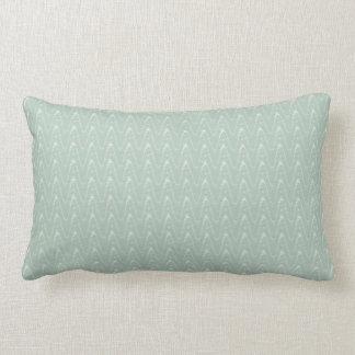 Silver Sage Cross Wave Indoor Lumbar Pillow