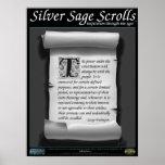 Silver Sage Scrolls™ 010: Washington; Constitution Poster