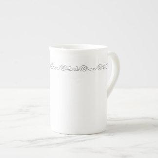 Silver Scroll Work Specialty Mug