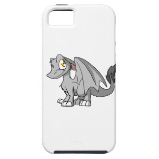 Silver SD Furry Dragon iPhone 5 Cases