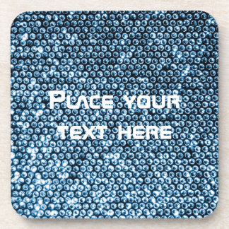 Silver Sequins Coasters