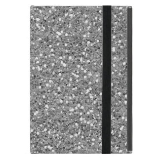 Silver Shimmer Glitter iPad Mini Cover