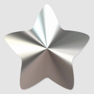 Silver Shining Sticker