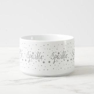 Silver Sparkles Chili Bowl