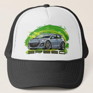 Silver_Speed3 Trucker Hat