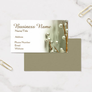 """""""Silver Spheres"""" Business Card"""