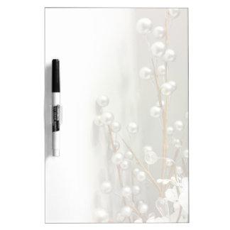 """Silver Spheres"" Dry Erase Board"