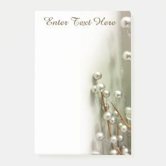 """""""Silver Spheres"""" Post-it® Notes"""
