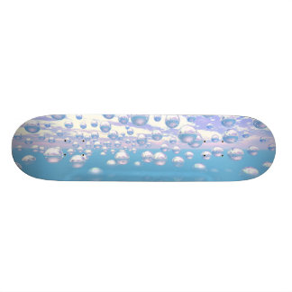 Silver Spheres Skateboard Decks