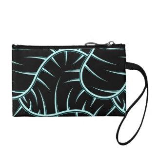 Silver spikes coin purse