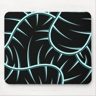 Silver spikes mouse pad