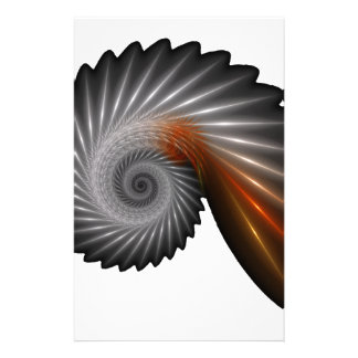 Silver spiral stationery