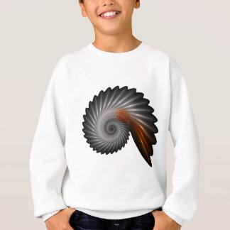 Silver spiral sweatshirt