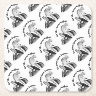 silver-spoon-buffon-party-pack square paper coaster