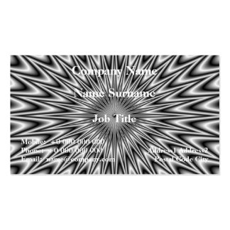 Silver Square Business Card