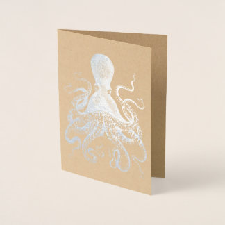 Silver Squid Foil Card