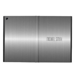 Silver Stainless Steel Metal iPad Air Case