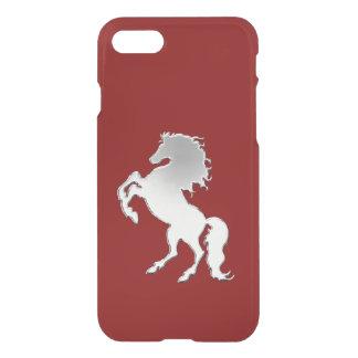 Silver Stallion Black iPhone 8/7 Case