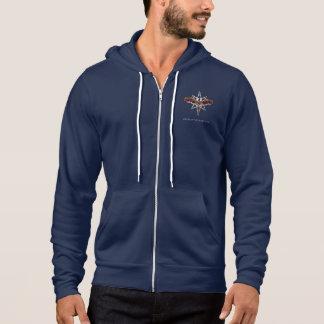 Silver Star hoodie (Men's - dark)