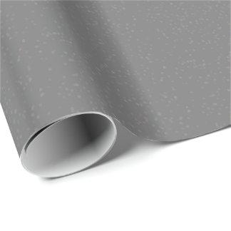 Silver Stardust Confetti Gift Wrap