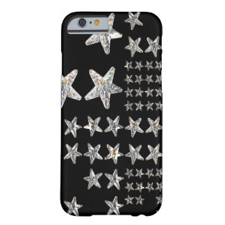 Silver Stars iPhone 6/6s Case