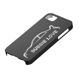 Silver STI Silhouette Logo iPhone 5 Covers
