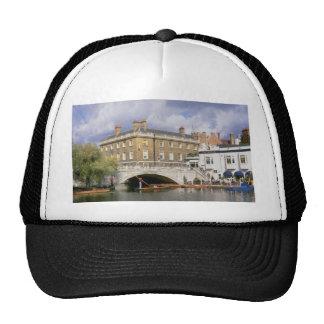 Silver Street Bridge and punts, Cambridge, U.K. Hats