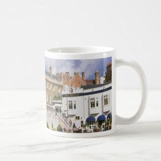 Silver Street Bridge and punts, Cambridge, U.K. Coffee Mugs