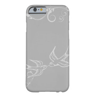 Silver Swallow iPhone 6 case Barely There iPhone 6 Case