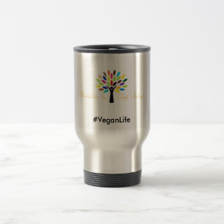 Silver Travel Mug, Great for Hot or Cold Items Travel Mug