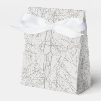 Silver 'Tree' Favour Box