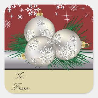 Silver Trio Gift Tags