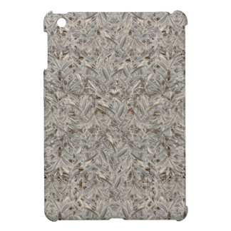 Silver Tropical Print iPad Mini Covers